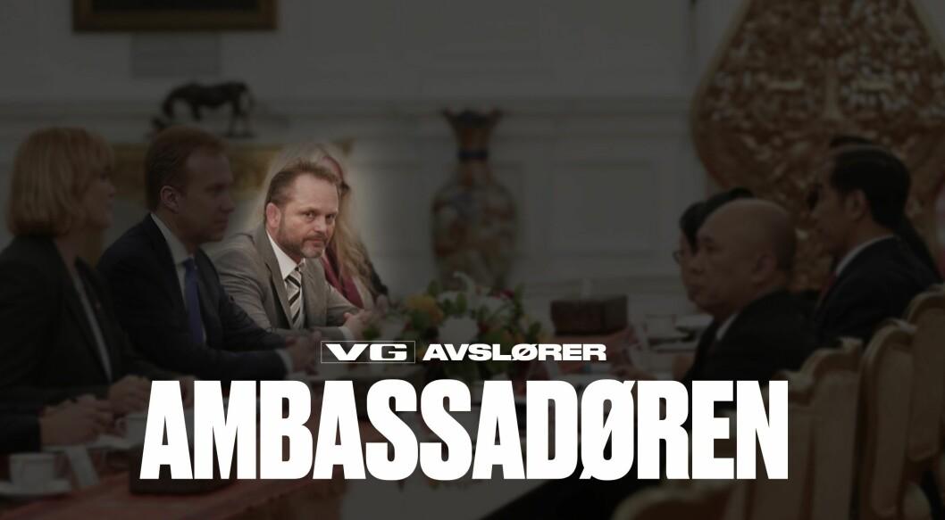 Fra den første og omfattende publiseringen om «ambassadøren» - Stig Traavik.