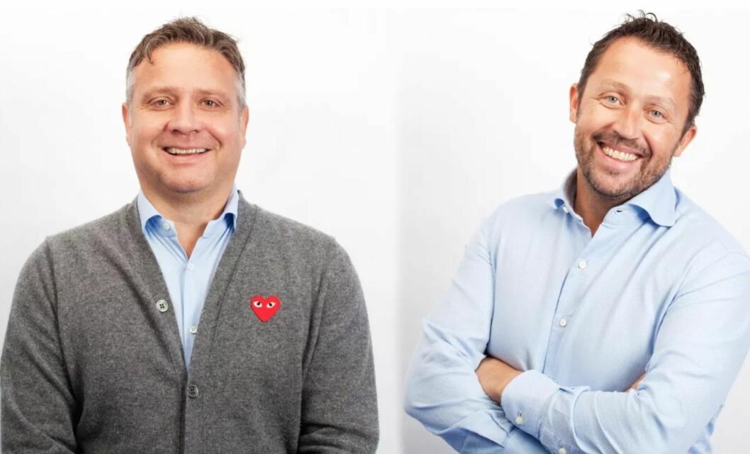 NY SALGSLEDELSE: Terje Dagestad-Larsen og Ove Søgaard blir salgsdirektører i P4.