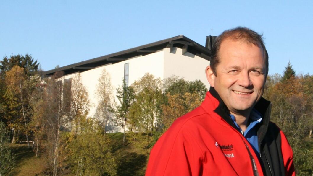 Leder Steinulf Henriksen i Nordnorsk redaktørforening.