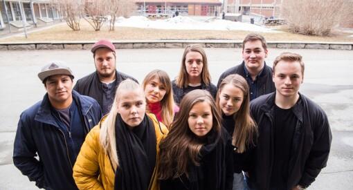 – Kritikken mot journalistikk-studiet er ufortjent, sier studentene. Nå mobiliserer de for å bevare linja på Nord universitet