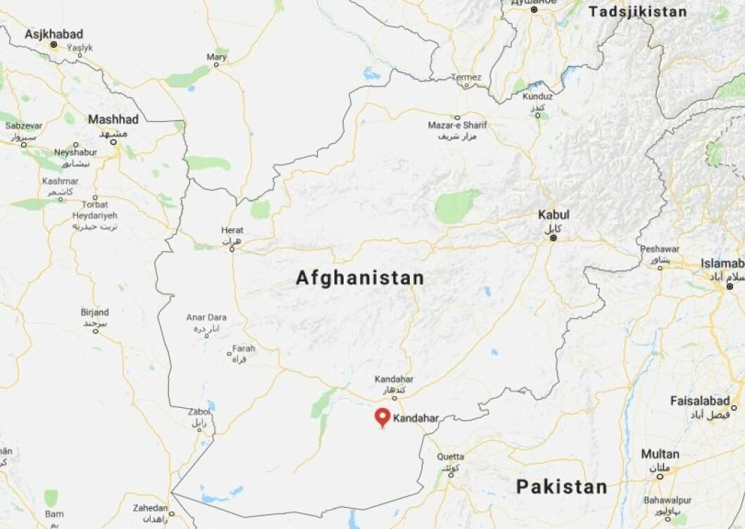 Kandahar-provinsen i Afghanistan.