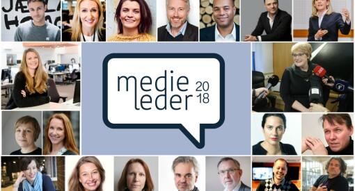 #Medieleder2018: 200 redaktører og direktører på konferanse i Bergen - se hva som skjer her