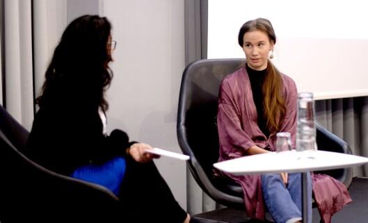 Sunniva Andreassen (28) ble den andre «Giske-varsleren» som stod fram med navn.