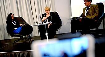 - Mediebransjen fortjener et bredt forlik og mer forutsigbarhet, sier kulturminister Trine Skei Grande