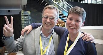 Full jubel i Fagpressen etter Trine Skei Grandes nyhet om nullmoms på digital nyhetsjournalistikk