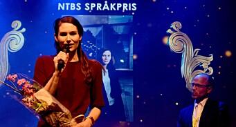 BT-kommentator Eirin Eikefjord får NTBs språkpris