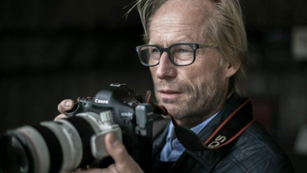 Torgrim Rath Olsen blir pressefotograf igjen.