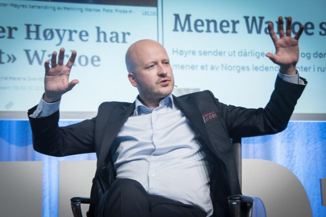 Tidligere statssekretær og spinndoktor Sigbjørn Aanes (H) under Nordiske mediedager.