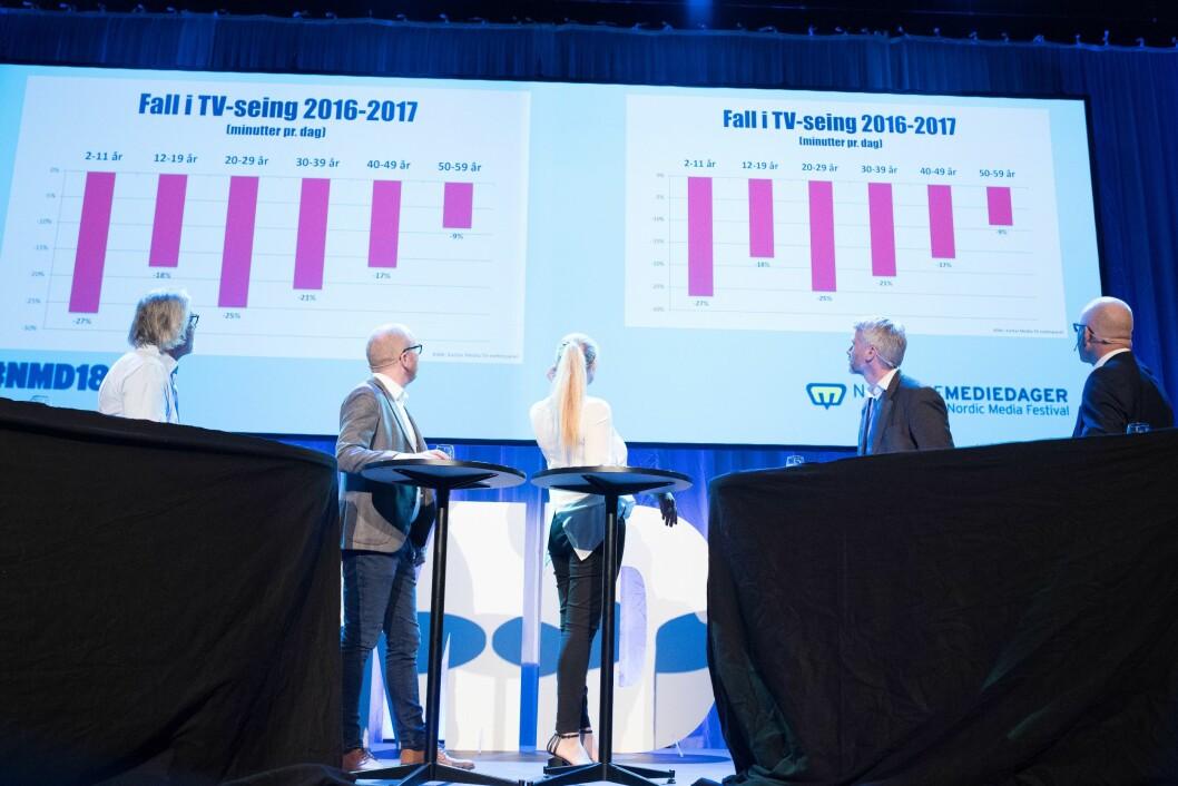 De norske TV-sjefene var forrige uke samlet til «toppmøte» på Nordiske Mediedager i Bergen.
