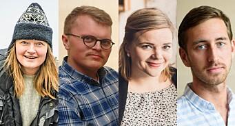 Slik fikk de fast jobb i mediebransjen: Ved å søke lykken i Alta, Vadsø, Vinstra og Bergen