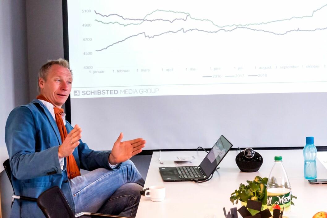 Tidligere sjefredaktør i Lister, Sveinung W. Jensen