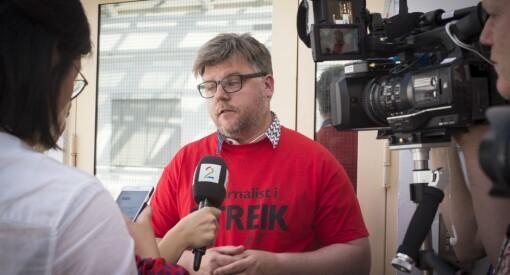 1.700 NRK-ansatte går ut i streik: - Det blir streik for NJ, men ikke for NTLs og MFOs medlemmer