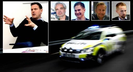 Dødsfall, væpnede aksjoner og mann med kniv: Disse hendelsene forteller ikke politiet om. Nå har redaktørene fått nok