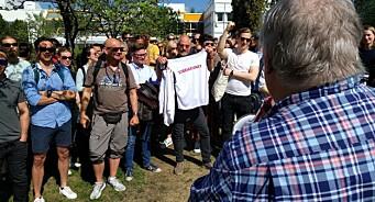 - Jeg har vært i streik før, og vet at i blant er det nødvendig å sette ned foten, sier programleder Tron Soot-Ryen i NRK