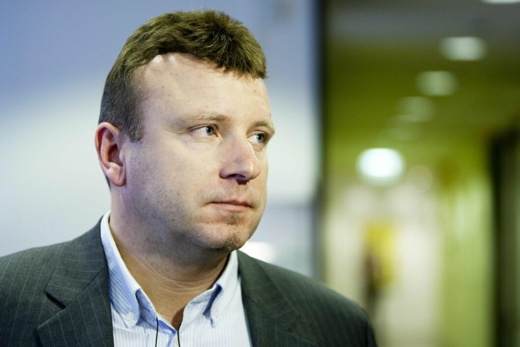 Vebjørn Selbekk, ansvarlig redaktør for avisa Dagen.