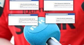 NRK har noen av landets største Facebook-sider. Nå har statskanalen valgt å ta dem ned i forbindelse med streiken