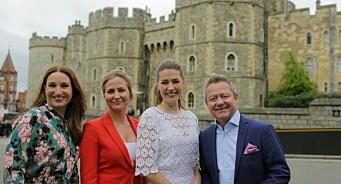 Nye rekorder for TV 2: På det meste fulgte 436.000 seere sendingen fra det kongelige bryllupet i Storbritannia