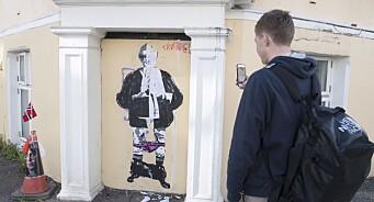 Trine Skei Grande-tegningen ligger innenfor ytringsfrihetens grenser, mener Jon Wessel-Aas