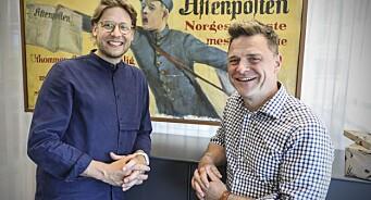 Henter designer fra Axel Springer til Akersgata: Constantin Eberle blir ny kreativ leder i Aftenposten