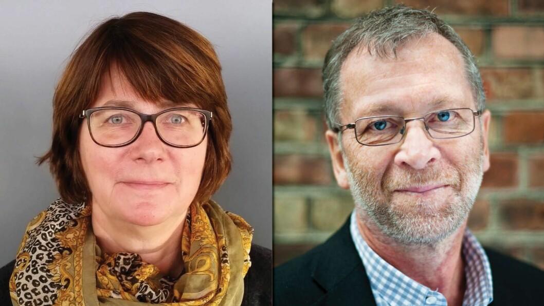 NYTT STYRE: Anne Cecilie Holm og Torgeir Anda er nestleder og styreleder i LL Inntrøndelagen.