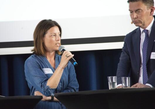 Sarah Willand er organisasjons- og kommunikasjonsdirektør i Tv2. Foto: Eira Lie Jor
