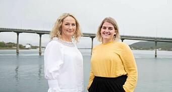 Damene skal styre markedsarbeidet i Vesterålen: Stina Helene Gustavsen og Karianne Munch-Ellingsen til VOL og VA