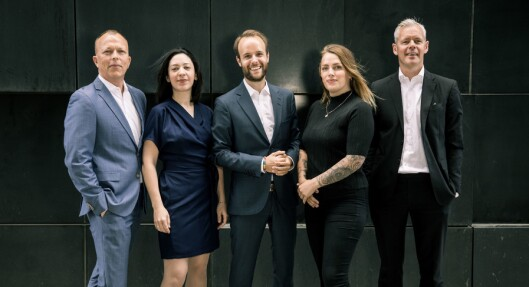 Storm Communications - nå fire ansatte og en «ambassadør».