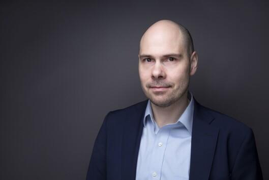 Konserndirektør Anders Opdahl i Amedia.