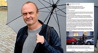 Jarle Aabø og «Ja til bilen i Oslo» brukte NTB-stoff uten å betale for seg. Her gikk det litt fort i svingen, erkjenner han
