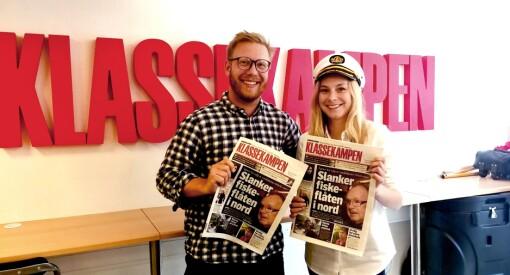 Klassekampen vender blikket nordover: Legger årets sommerbåt-turné til Finnmark