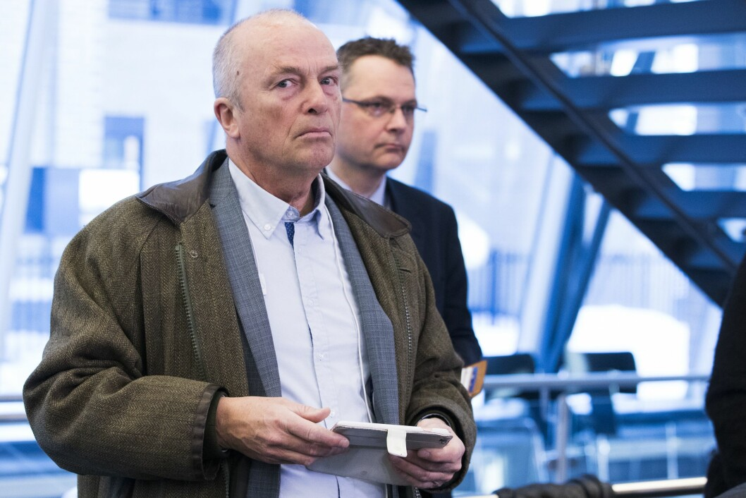 Hans Rustad, redaktør for Document.no, har fått innpass i Norsk Redaktørforening. Her i forbindelse med en pressekonferanse i Justisdepartementet tidligere i år.