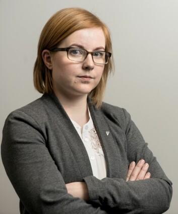Åshild Pettersen, kvinnepolitisk leder i SV.