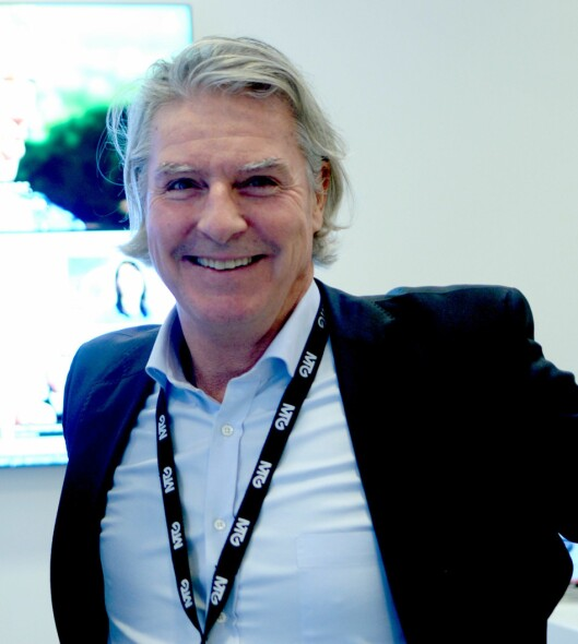 NENT Norge-sjef Morten Aass.