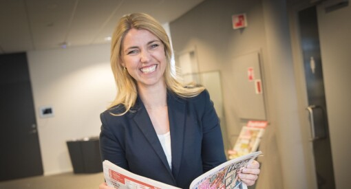 Svakere Dagbladet-resultat – men likevel fornøyd