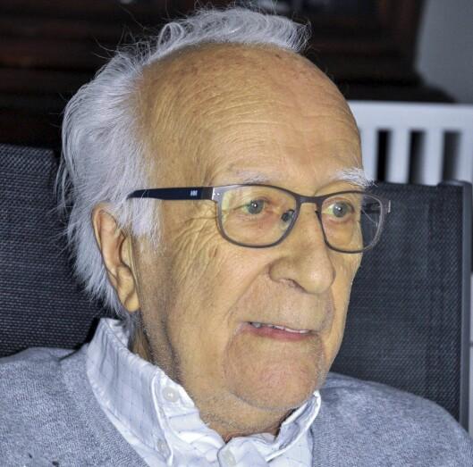 Reidar Nielsen, nå 80 år.