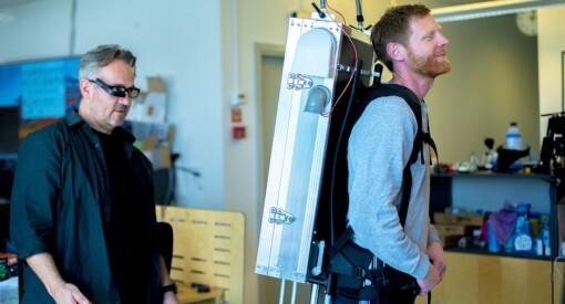 Sjekk den ryggsekken: Slik skal NRK halse etter Lars Monsen for å lage live TV fra fjellet
