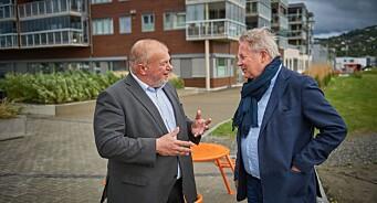 Arve Løberg slår seg på lag med Jan Erik Larsen og Bjarne Håkon Hanssen