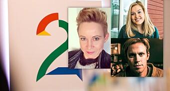 TV 2 ansetter tre nye journalister: Ingvill Drægni (41), Magnus Braaten (22) og Lovise Gangnes (24) skal styrke TV2.no