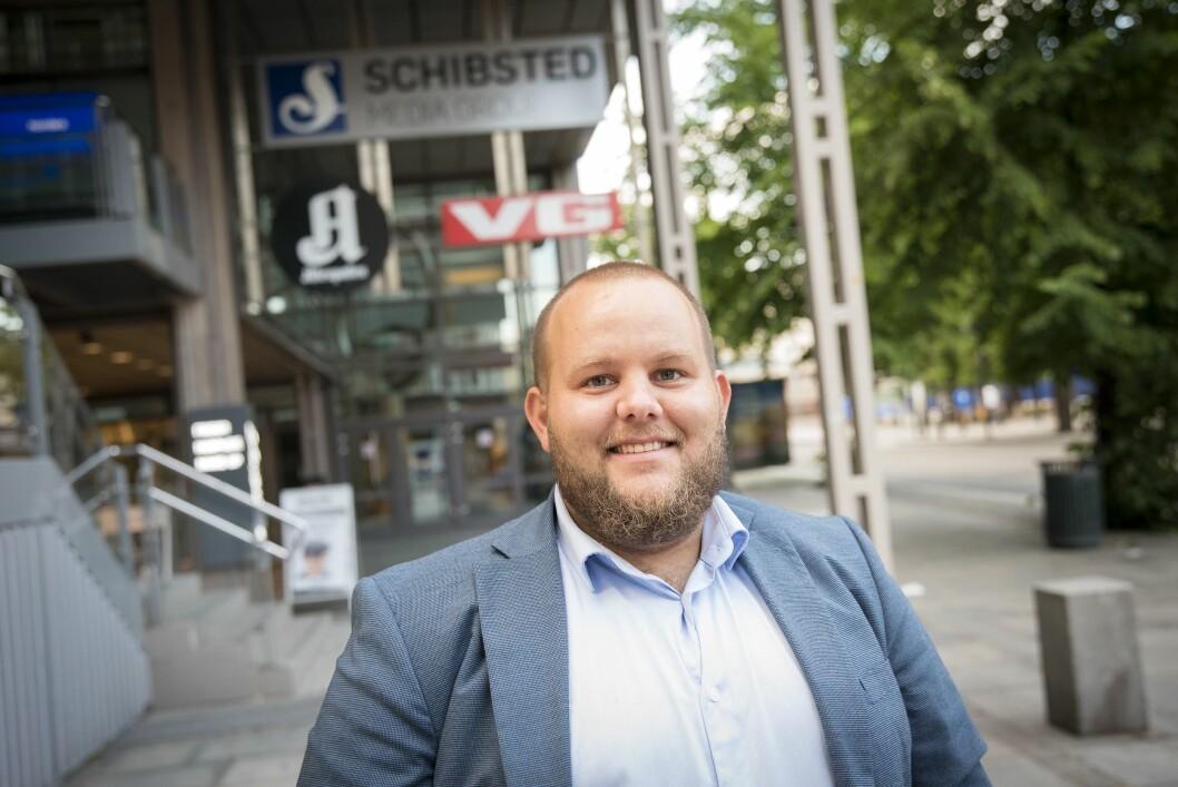 Gard L. Michalsen, påtroppende sjefredaktør og adm. direktør i E24.