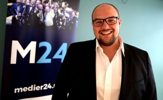 Redaktør og daglig leder Erik Waatland i Medier24.