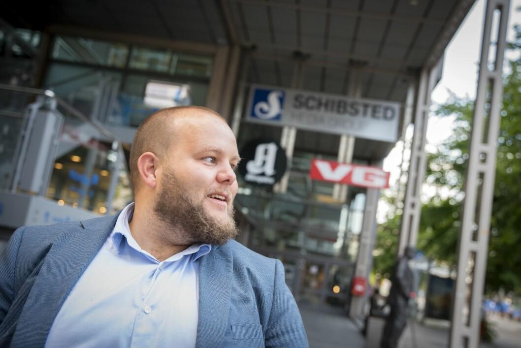 Gard L. Michalsen, sjefredaktør og administrerande direktør i E24.