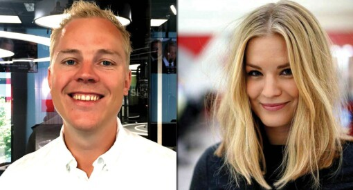Mathias (28) og Anne Sofie (26) har fått fast jobb i TV 2 Nyhetene