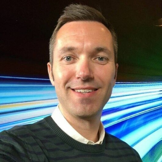 Konst. nyhetsdirektør Marius Tetlie i NRK.