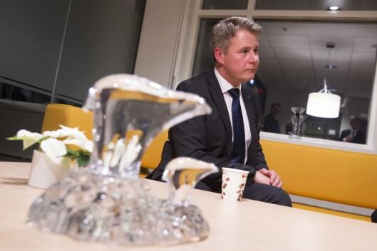Per-Willy Trudvang Amundsen (Frp), justis- og beredskapsminister.