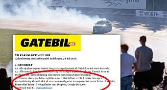 Medier reagerer på «rigide» fotokrav under Gatebil: Arrangøren krevde å få bruke medienes bilder til egen markedsføring
