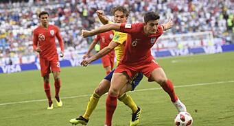 Fotballfeberen herjer i England: Nesten 20 millioner engelskmenn så VM-kvartfinalen