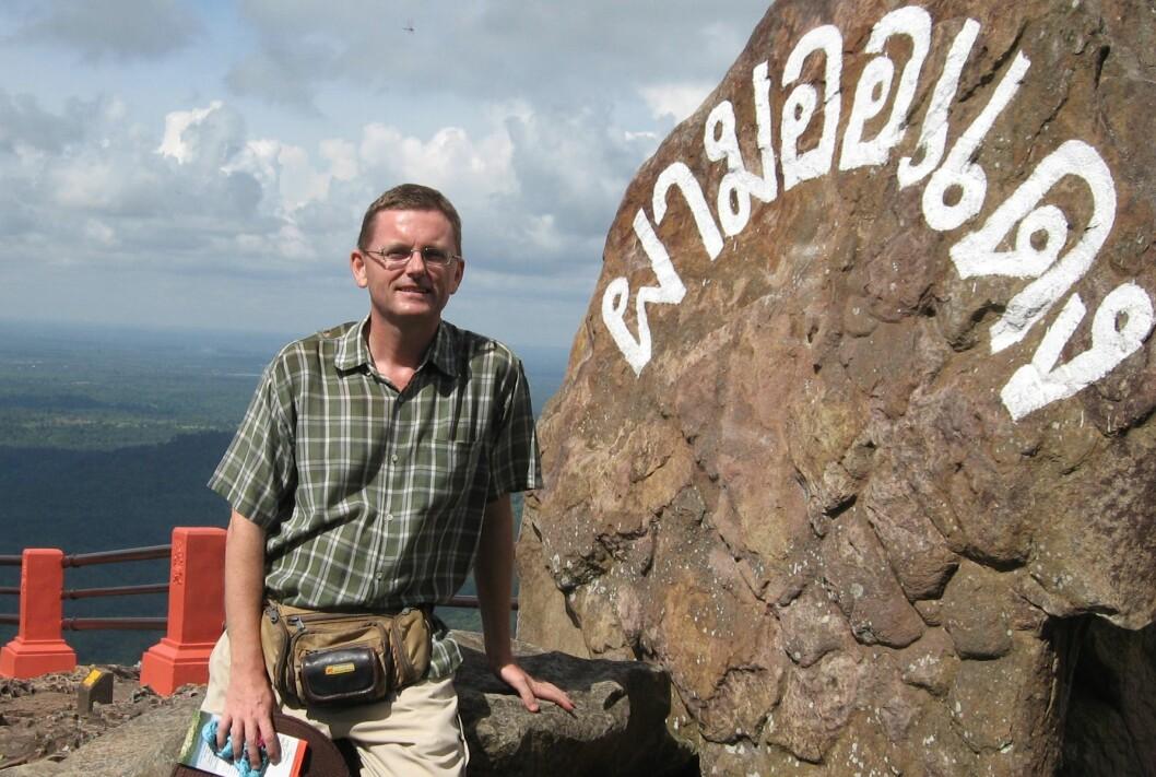 Redaktør Dag A. Ekeberg i Thailands Tidende.