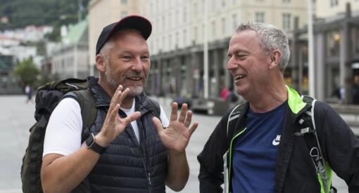 - Lars Monsen, gå og legg deg: Her har TA-redaktør Ove Mellingen startet gåturen fra Bergen til Skien