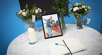 - Morten ga alltid en god klem, sier de ansatte. I dag sørget NRK Finnmark over tapet av redaktør Morten Ruud