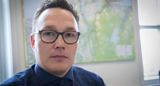 Robin Mortensen (40) er eneste søker til jobben som distriktsredaktør i NRK Finnmark